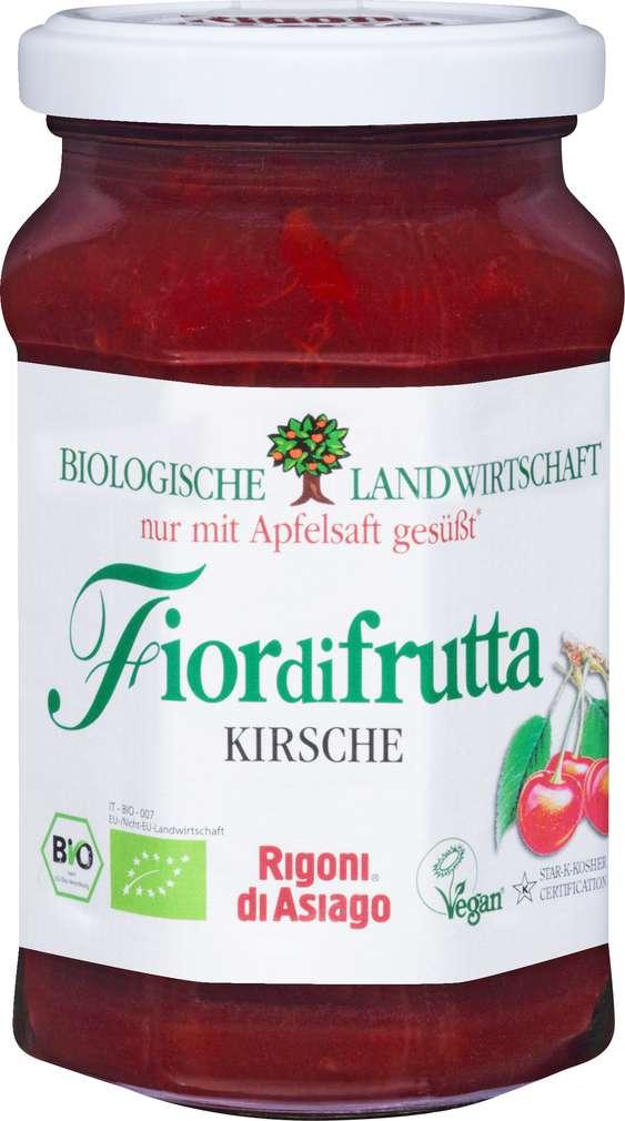 Abbildung des Sortimentsartikels Fiordifrutta Bio-Fruchtaufstrich Kirsch 250g