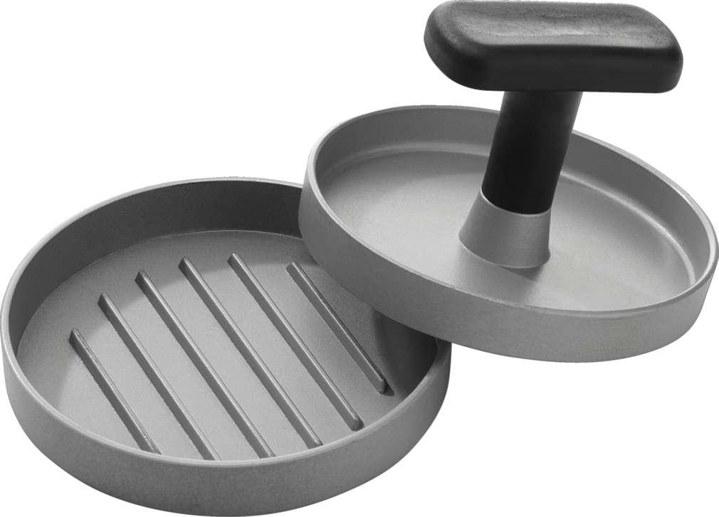 Abbildung des Sortimentsartikels Countryside Let's BBQ Hamburgerpresse Aluminium