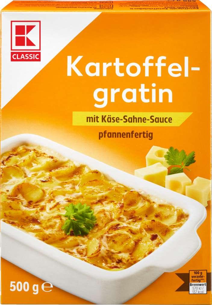 Abbildung des Sortimentsartikels K-Classic Kartoffelgratin 500g