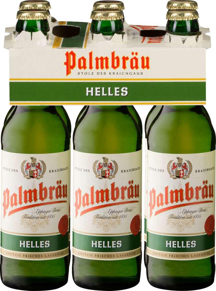 Abbildung des Sortimentsartikels Palmbräu Helles