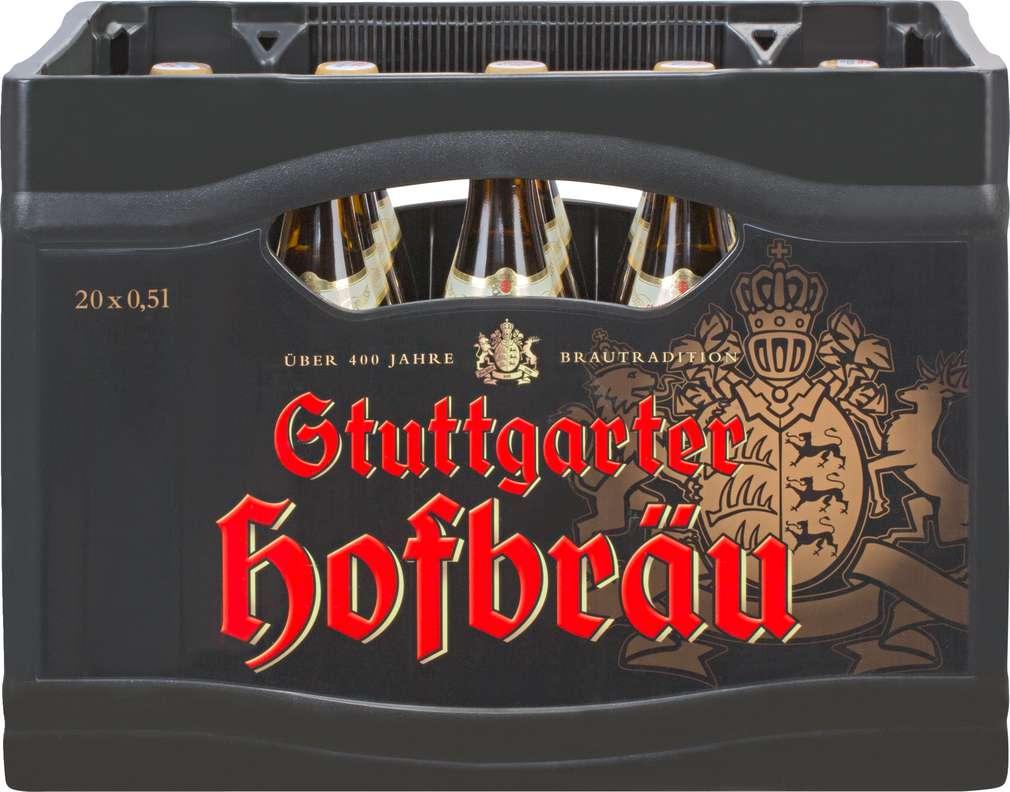 Abbildung des Sortimentsartikels Stuttgarter Hofbräu Malteser Hefe hell 20/0,5l