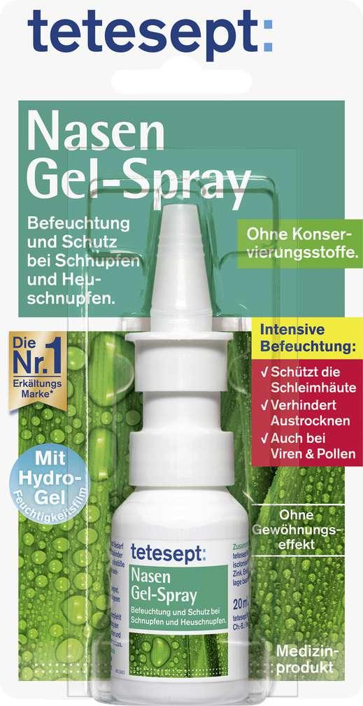 Abbildung des Sortimentsartikels Tetesept Nasen Gel-Spray 20ml
