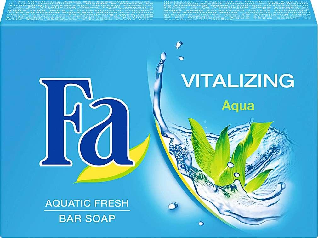 Abbildung des Sortimentsartikels Fa Seife Vitalizing Aqua 100g