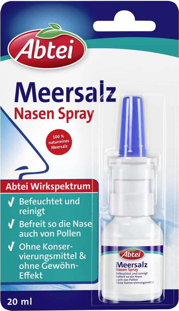 Abbildung des Sortimentsartikels Abtei Nasenspray Meersalz 20ml