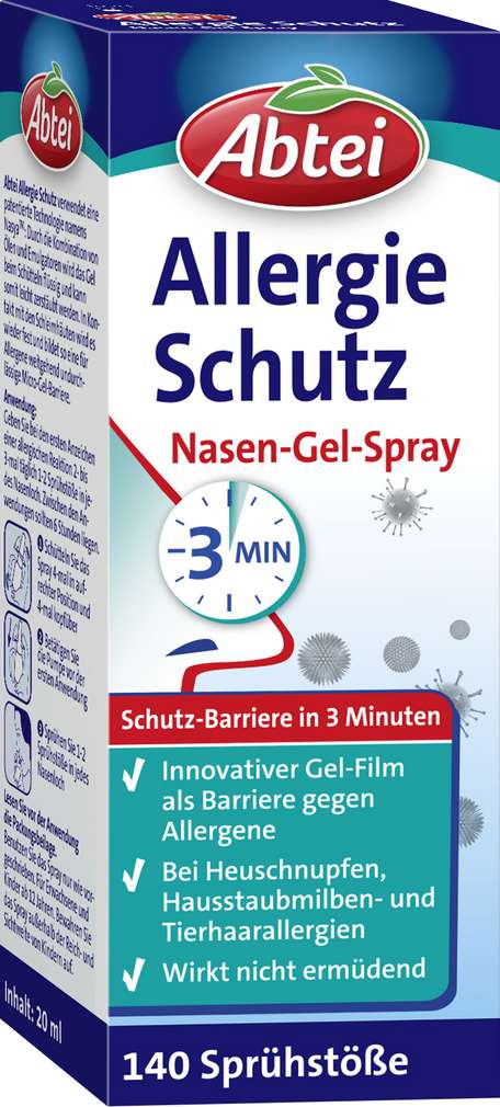 Abbildung des Sortimentsartikels Abtei Nasenspray Allergie 20ml