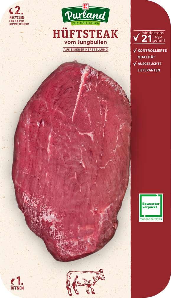 Abbildung des Sortimentsartikels K-Purland Rindersteak vom Jungbullen