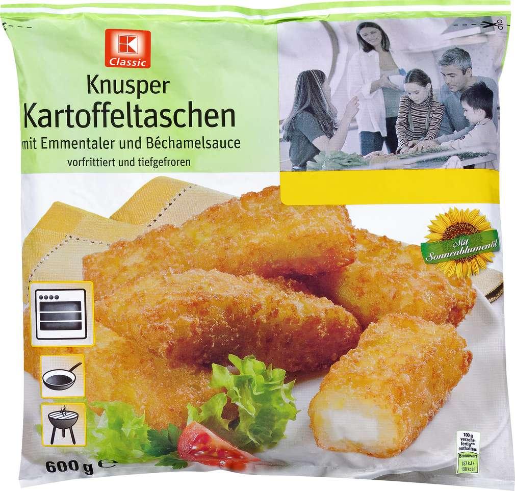 Abbildung des Sortimentsartikels K-Classic Kartoffeltaschen Emmentaler und Béchamelsauce 600g