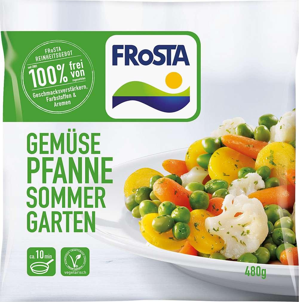 Abbildung des Sortimentsartikels Frosta Gemüsepfanne Sommergarten 480g