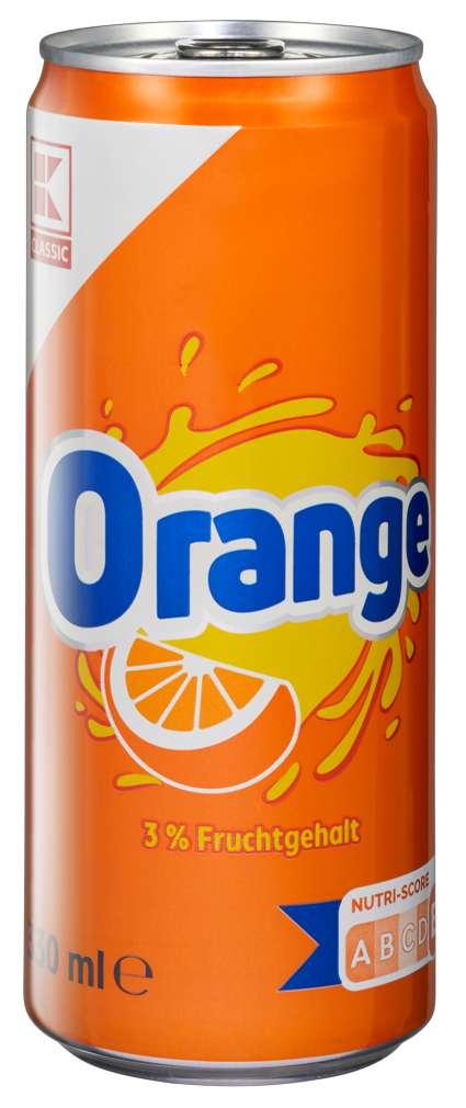 Abbildung des Sortimentsartikels K-Classic Orangenlimonade 0,33l