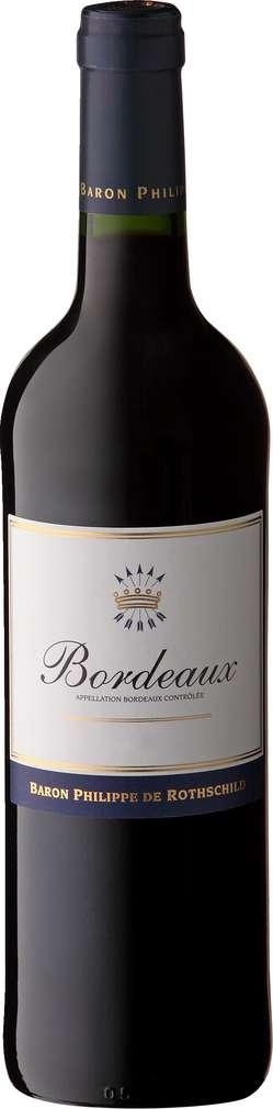 Abbildung des Sortimentsartikels Baron Philippe de Rothschild Bordeaux Rouge 0,75l