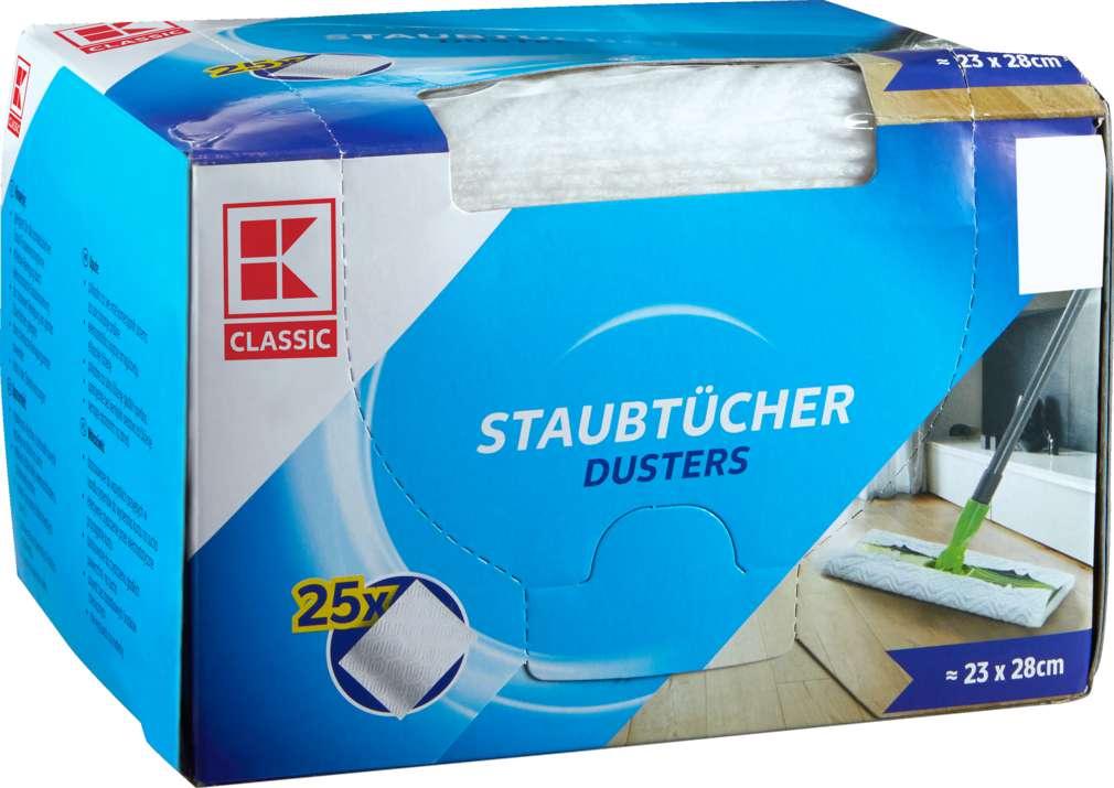 Abbildung des Sortimentsartikels K-Classic Staubtücher 25 Stück