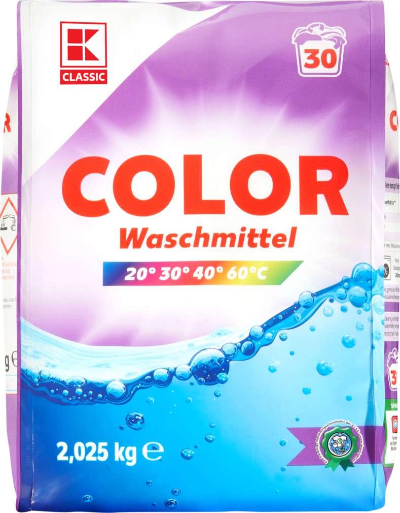 Abbildung des Sortimentsartikels K-Classic Colorwaschmittel 2,025kg