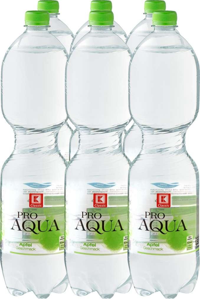 Abbildung des Sortimentsartikels K-Classic Pro Aqua Apfel 6x1,5l