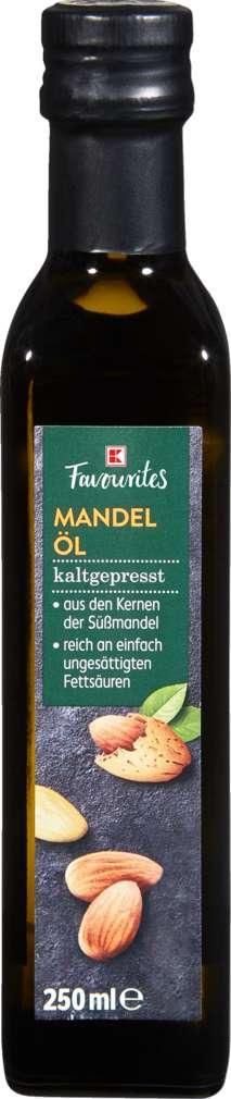 Abbildung des Sortimentsartikels K-Favourites Mandelöl kaltgepresst 250ml