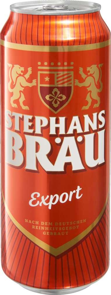 Abbildung des Sortimentsartikels Spirituose; Bier Export 0,5l Dose