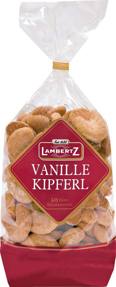 Abbildung des Sortimentsartikels Lambertz Vanille Kipferl 400g
