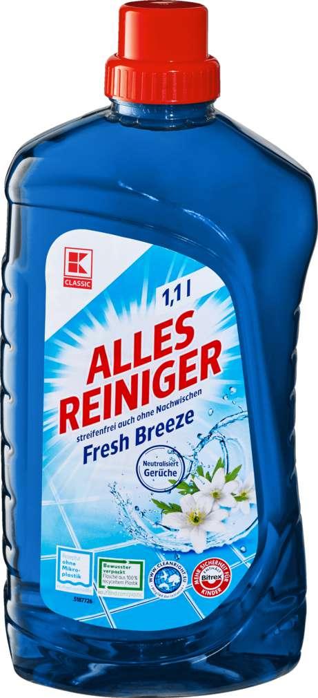 Abbildung des Sortimentsartikels K-Classic Allesreiniger Fresh Breeze 1,1l