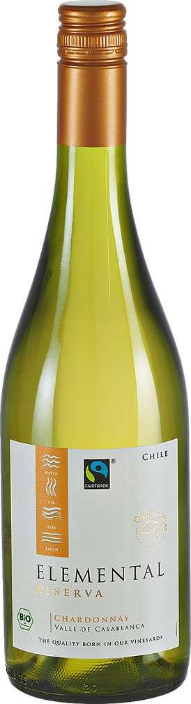 Abbildung des Sortimentsartikels Elemental Reserva Chardonnay 0,75l