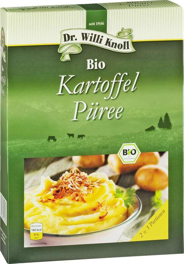 Abbildung des Sortimentsartikels Dr. Willi Knoll Bio Kartoffel Püree 160g