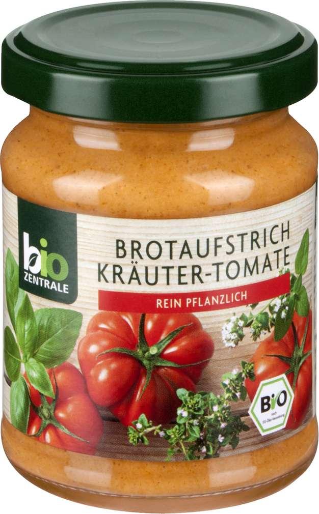 Abbildung des Sortimentsartikels Bio-Zentrale Brotaufstrich Kräuter-Tomate 125g