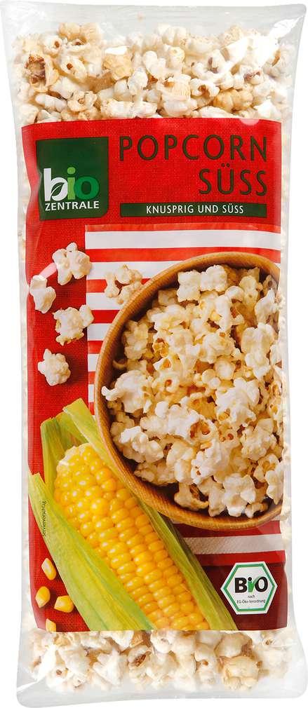 Abbildung des Sortimentsartikels Bio-Zentrale Popcorn süß 100g
