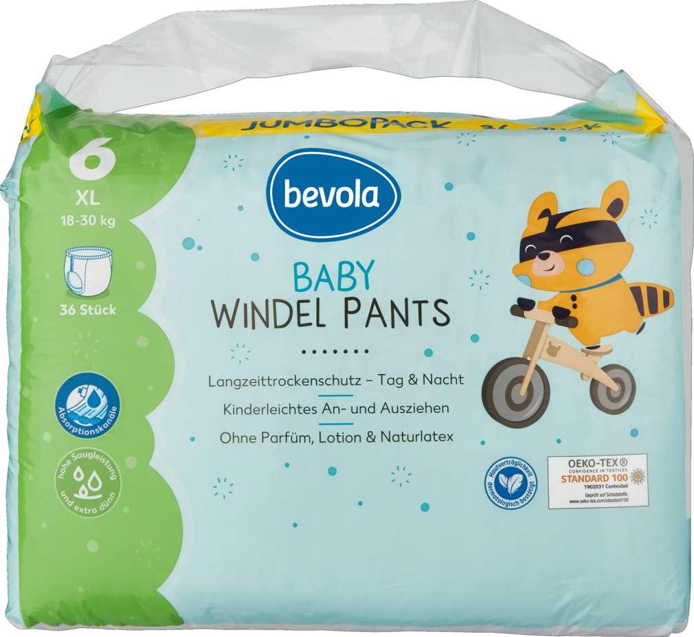 Abbildung des Sortimentsartikels Bevola Pants XL Jumbopack 36 Stück