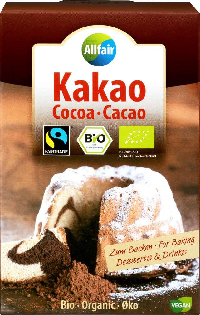 Abbildung des Sortimentsartikels Allfair Kakao 125g