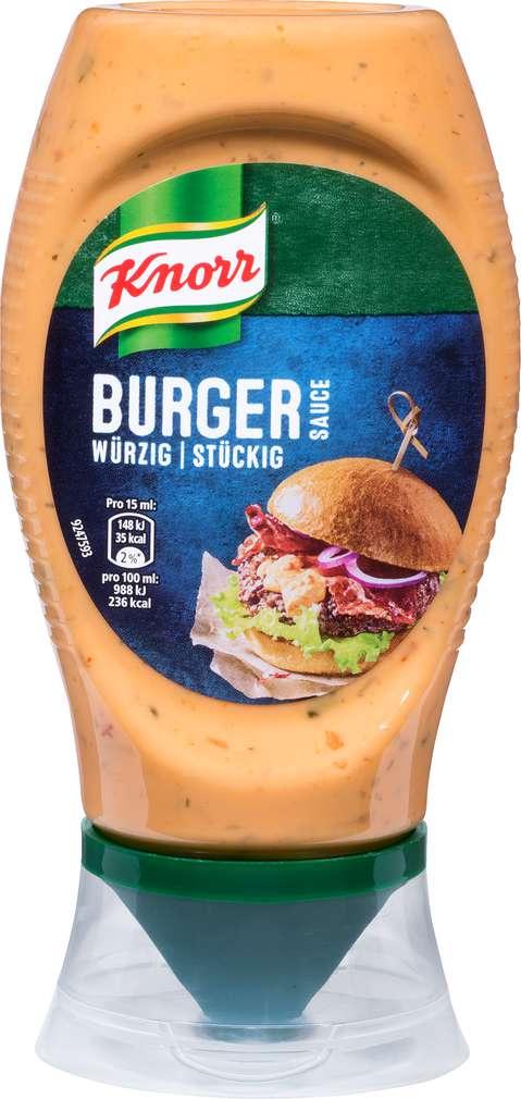 Abbildung des Sortimentsartikels Knorr Burger Sauce 250ml