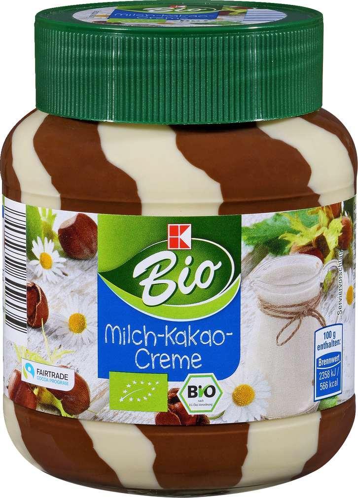 Abbildung des Sortimentsartikels K-Bio Milch-Kakao-Creme 400g
