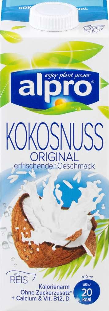 Abbildung des Sortimentsartikels Alpro Kokosnuss-Drink Original 1l