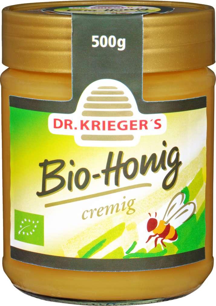 Abbildung des Sortimentsartikels Dr. Krieger´s Bio-Honig Cremig 500g