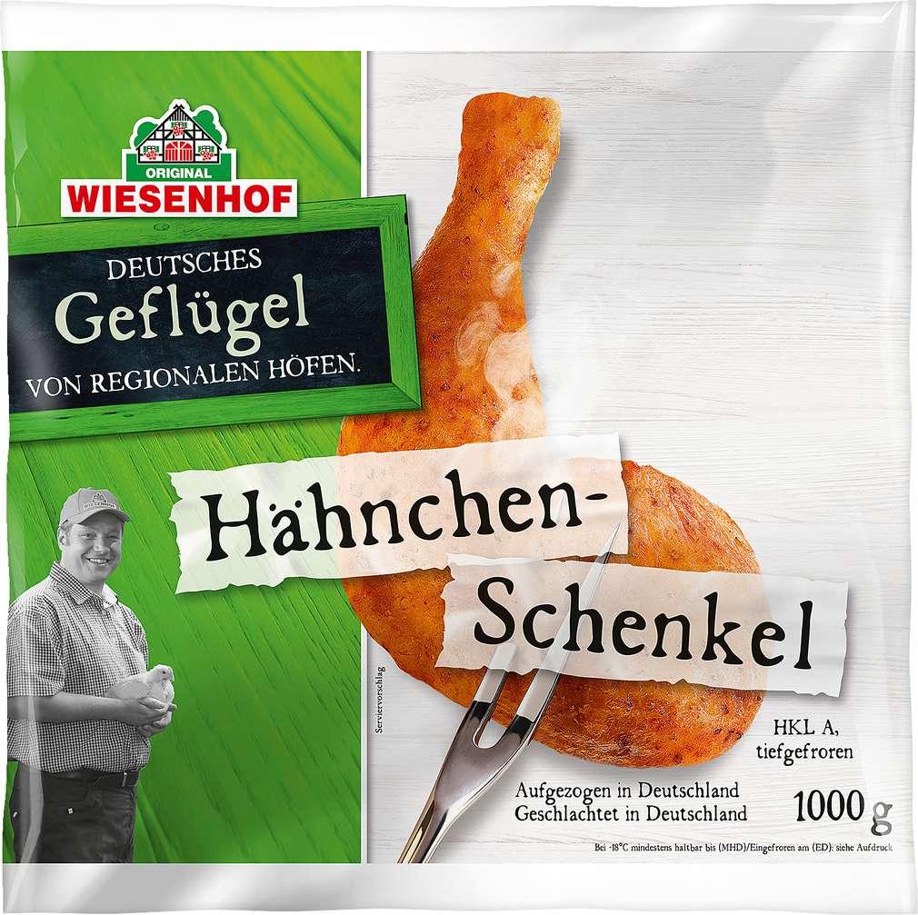 Abbildung des Sortimentsartikels Wiesenhof Hähnchen-Schenkel 1000g