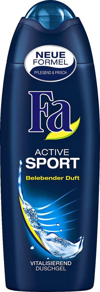 Abbildung des Sortimentsartikels Fa Duschgel Sport Active 250ml