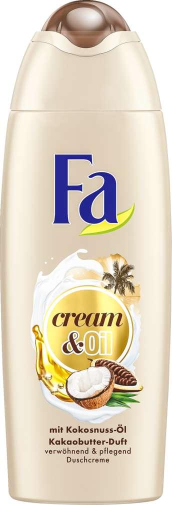 Abbildung des Sortimentsartikels Fa Duschcreme Cream & Oil Kakaobutter 250ml