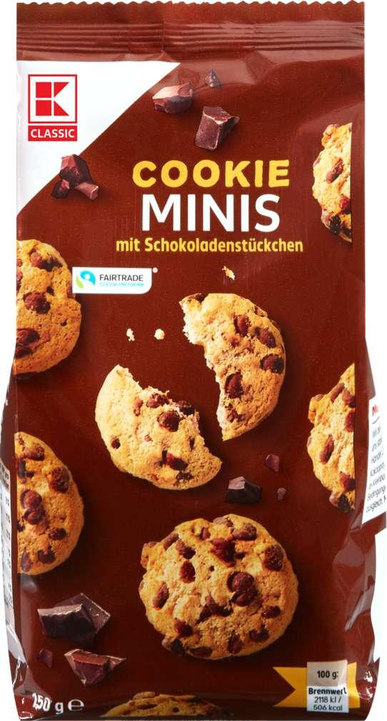 Abbildung des Sortimentsartikels K-Classic Mini Cookies 150g