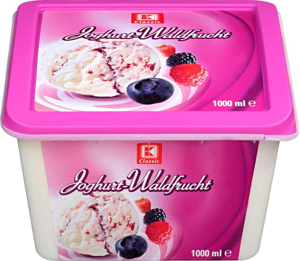 Abbildung des Sortimentsartikels K-Classic Eis Joghurt-Waldfrucht 1l