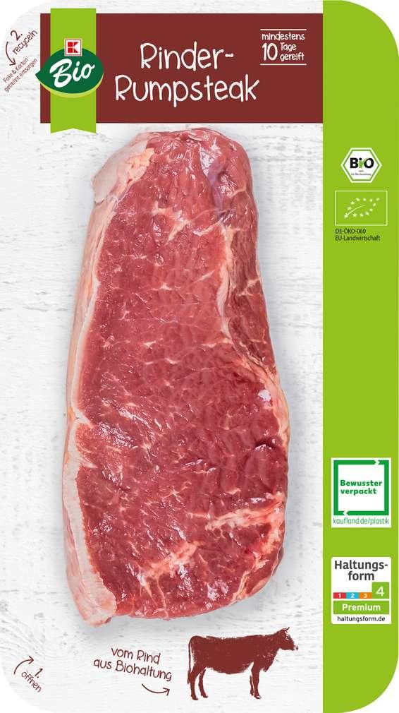 Abbildung des Sortimentsartikels K-Bio Bio Roastbeef / Rumpsteak