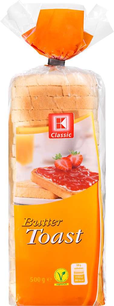 Abbildung des Sortimentsartikels K-Classic Buttertoast 500g