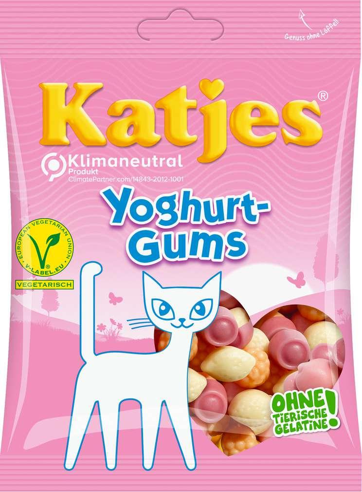 Abbildung des Sortimentsartikels Katjes Yoghurt-Gums 200g
