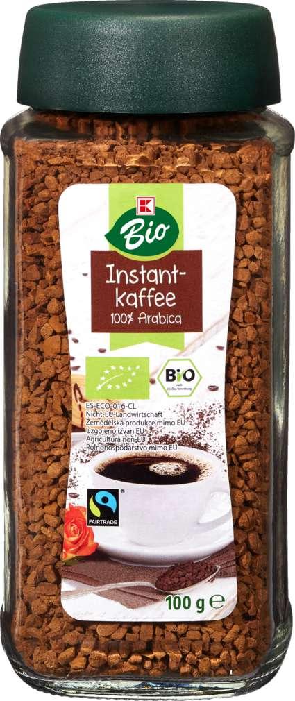 Abbildung des Sortimentsartikels K-Bio Bio-Instantkaffee 100g