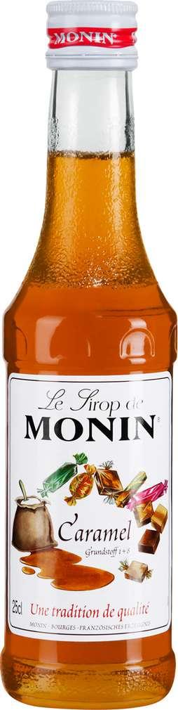 Abbildung des Sortimentsartikels Monin Sirup Karamel 0,25l