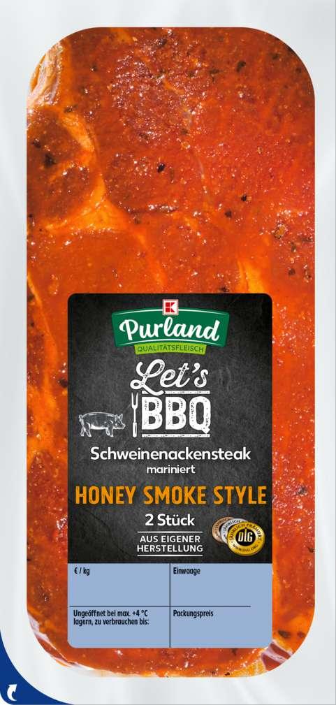 Abbildung des Sortimentsartikels K-Purland Grillsteak Honey Smoke aufgetaut