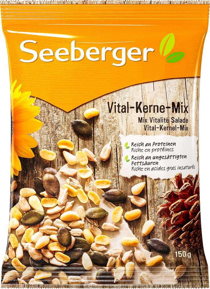 Abbildung des Sortimentsartikels Seeberger Vital-Kerne-Mix 150g