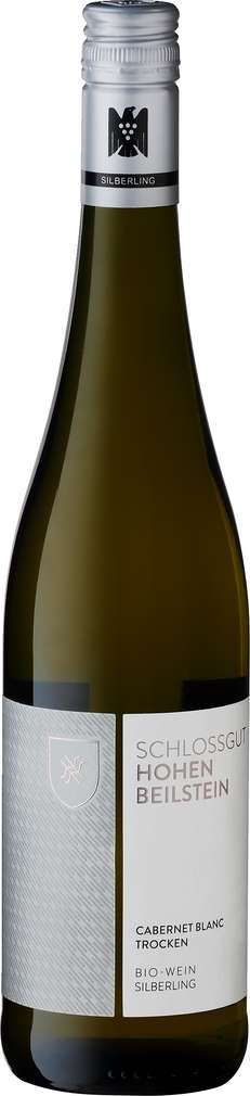 Abbildung des Sortimentsartikels Schlossgut Hohenbeilstein Bio-Silberling Cabernet Blanc 0,75l