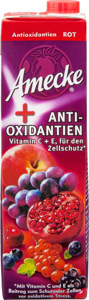 Abbildung des Sortimentsartikels Amecke Plus + Antioxidantien rot 1l