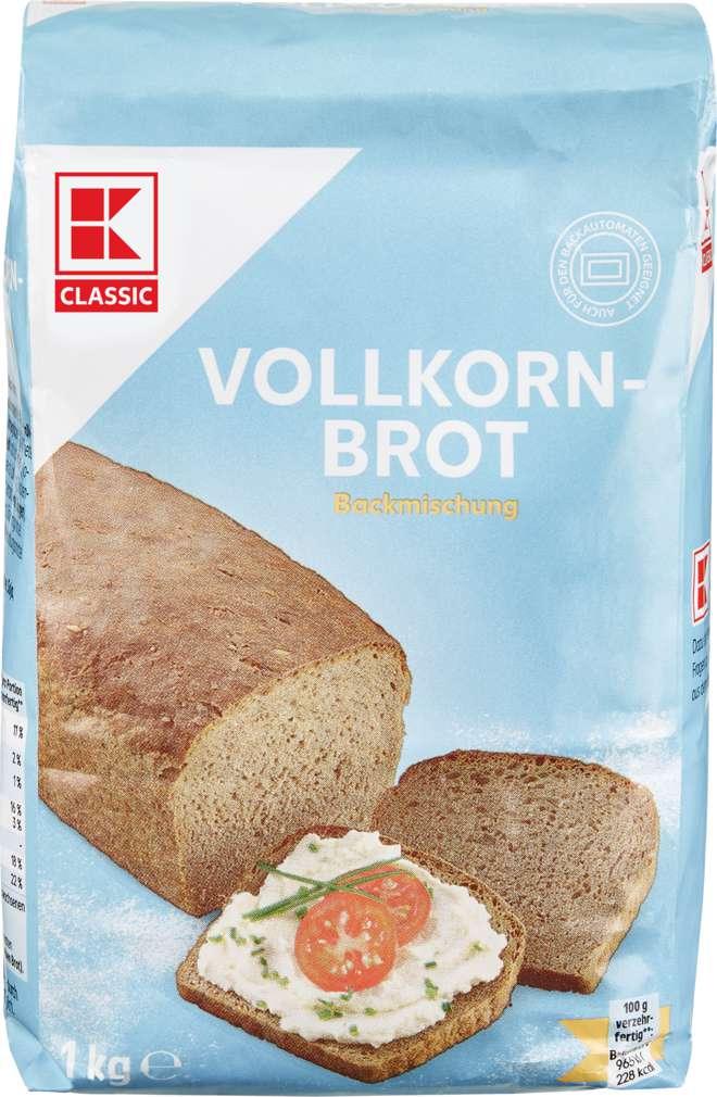 Abbildung des Sortimentsartikels K-Classic Vollkornbrot Brotbackmischung 1kg