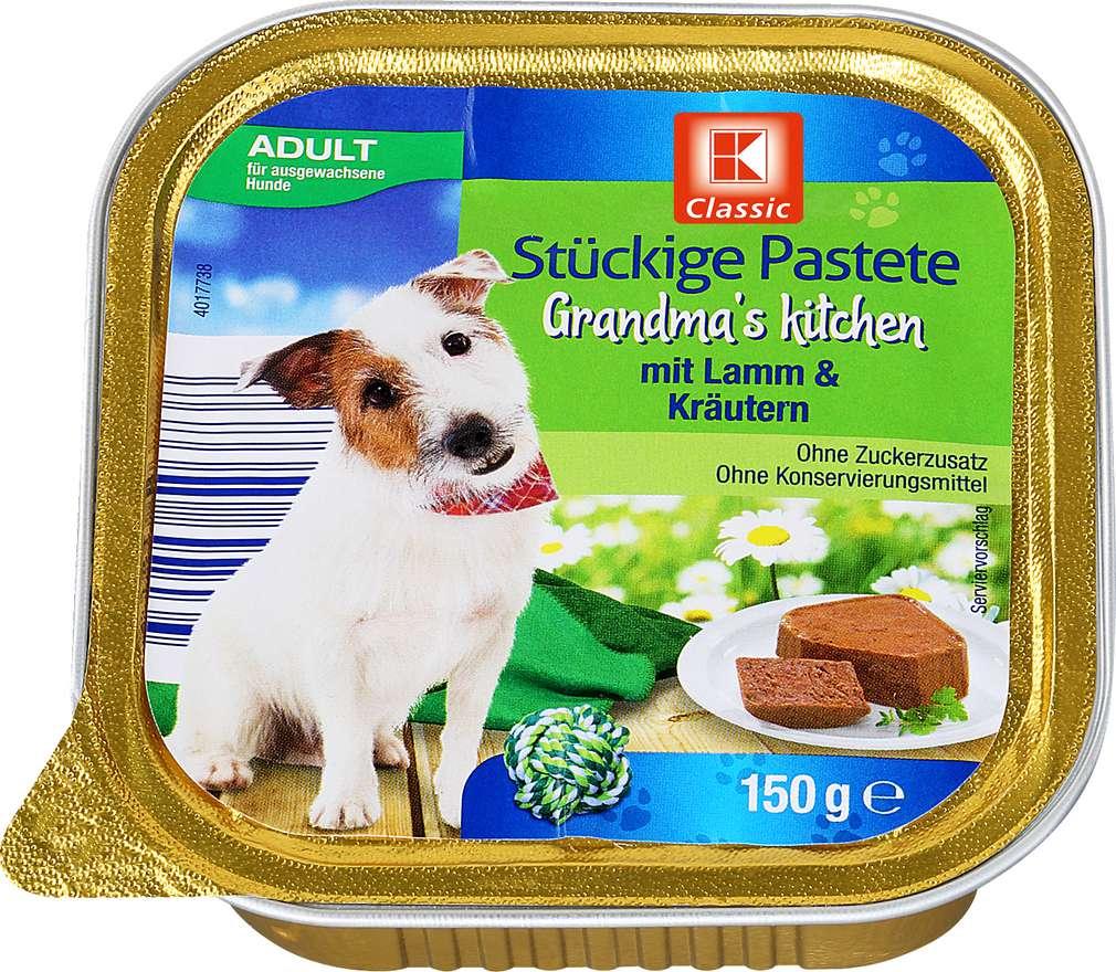 Abbildung des Sortimentsartikels K-Classic Stückige Pastete mit Lamm & Kräutern 150g