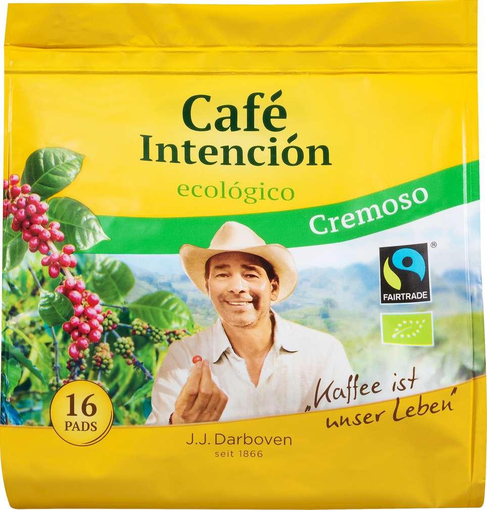 Abbildung des Sortimentsartikels Darboven Café Intención Ecólogico Cremaso 16 Pads 112g