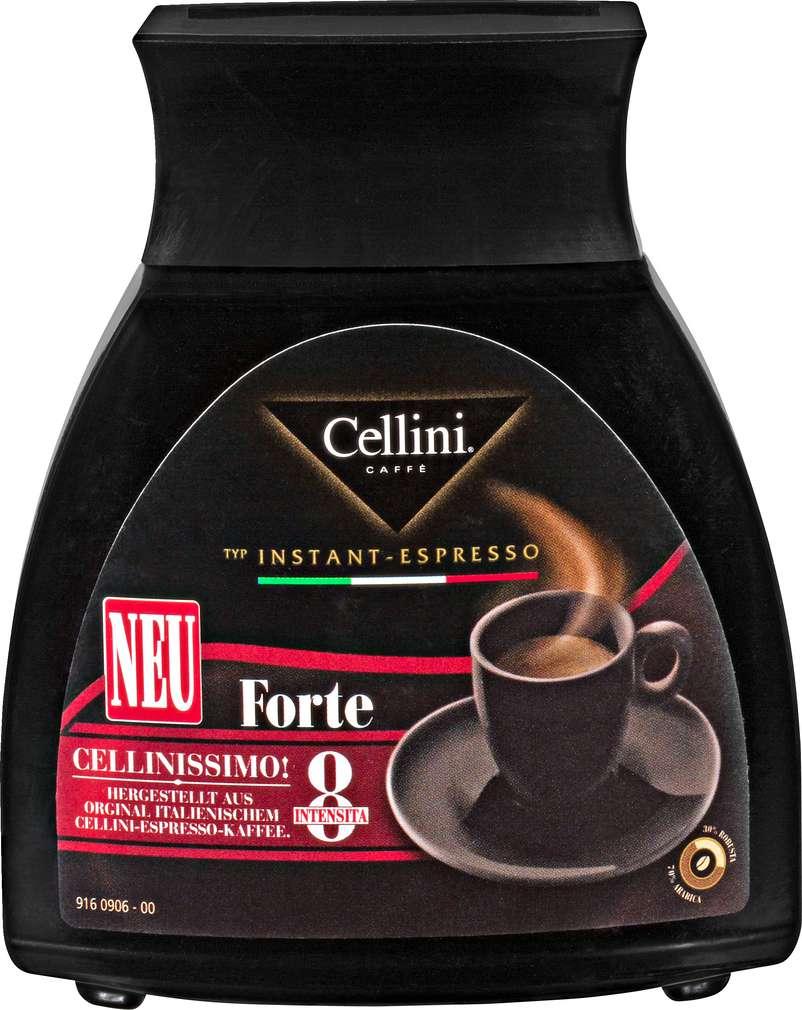 Abbildung des Sortimentsartikels Cellini Espresso Forte Instantkaffee 100g