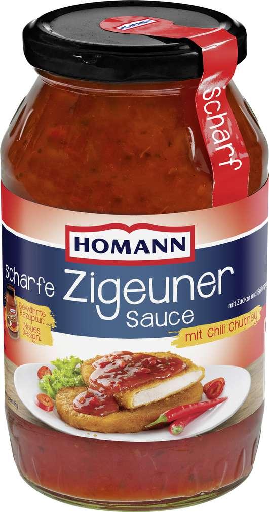 Abbildung des Sortimentsartikels Homann Scharfe Zigeuner-Sauce 500ml